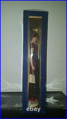 Franklin Mint Titanic Portrait Vinyl Doll In Red Jump Dress NIB