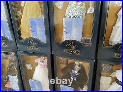 Franklin Mint Titanic Rose Collection 12 Outfits Nrfb
