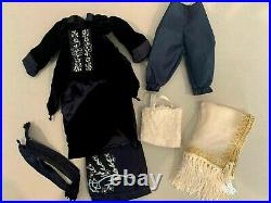 Franklin Mint Titanic Rose Doll, Trunk, Safe, Mannequin, 12 Outfits, Jewelry