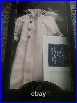 Franklin Mint Titanic Rose Vinyl Doll Lilac Dress And Pink Coat Ensemble New
