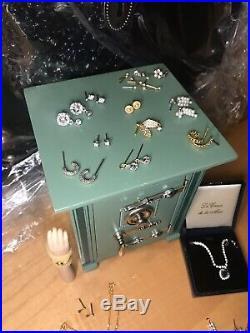 Franklin Mint Titanic Rose Vinyl Doll Safe Heart Of Ocean Necklace + Tons