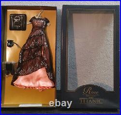 Franklin Mint Titanic Rose Vinyl Portrait Doll The Dinner Ensemble