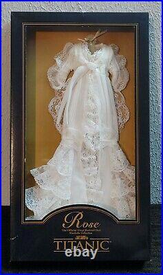 Franklin Mint Titanic Rose Vinyl Portrait Doll The Dressing Gown Ensemble