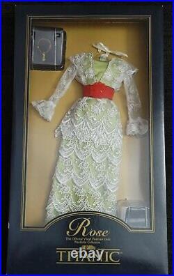 Franklin Mint Titanic Rose Vinyl Portrait Doll The Tea Dress Ensemble
