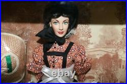Franklin Mint Vinyl Portrait Doll Gone With The Wind Scarlett O'Hara Battlefield