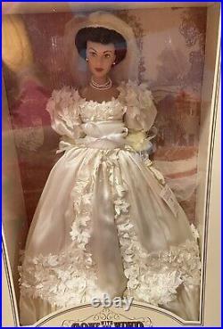 Franklin Mint Vinyl Portrait Doll Gone With The Wind Scarlett O'Hara Bride Doll