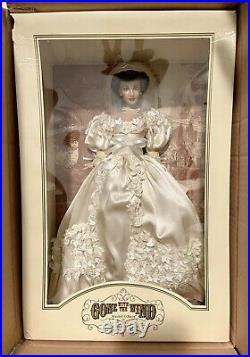 Franklin Mint Vinyl Portrait Doll Gone with the Wind Scarlett O'Hara Wedding MIB