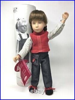 GOTZ Sasha ANIKA Girl Doll 08236 16.5 inch Vinyl Mint in Tube #264 RARE