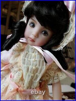 Geri Uribe Diana Effner Little Darling Doll 13 In Brown Eyes HUGE LOT