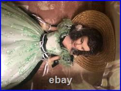 Gone With The Wind The Franklin Mint Scarlett O'Hara Vinyl Portrait Doll