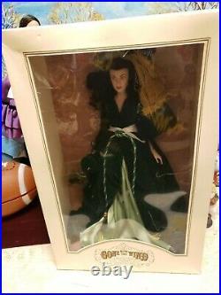 Gone with the Wind Scarlett OHara 17 Vinyl Portrait Doll Franklin Mint