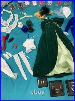 Gone with the Wind Scarlett Ohara Vinyl Portrait Doll Collection Franklin Mint