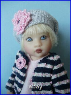 HELEN KISH 7 1/2 Jointed CONTEMPO RILEY Doll BJD Mint with Tag and COA