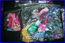 Huge Barbie Friends And Family Lot! 90 Dolls! Clothes, Acc. Shoes, Htf, Rare