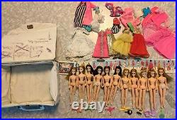 Huge Lot 11 Topper Dawn Dolls Clothing Lunchbox shoes model dancing accessories
