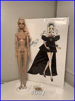 Integrity Toys Midnight Decadence 10th Anniversary Poppy Parker Doll Nude Mint