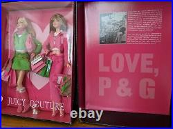 JUICY COUTURE Barbie Collector Gold Label 2004 Edition in Original box