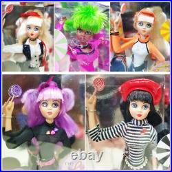 Jan McLean Designs Lot of 5 Lollipop Girls Dolls Cassie Bebe Brigette Lulu Pipi