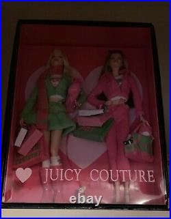 Juicy Couture Love P & G Barbie 2 Doll Set Gold Label 2004 Rare NRFB