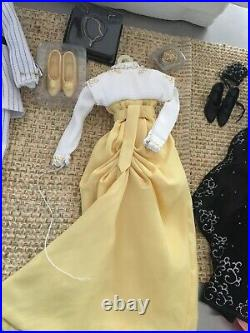 LOT of 3 Franklin Mint 16 Vinyl TITANIC Rose Doll OUTFITS Dresses, Shoes +access