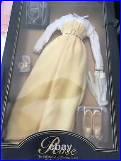 LOT of 4 Franklin Mint TITANIC ROSE 16Vinyl Doll ENSEMBLE Set all outfits NRFB