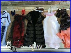 LOT of 5 Franklin Mint 16 Vinyl TITANIC Rose Doll OUTFITS Dresses & Shoes Set