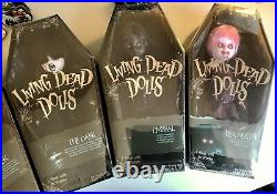 Living Dead Dolls Series 31 Dont Turn Out The Lights, Lot