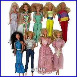 Lot of 24 Barbies © 1966 Four Are from 80's Read Description SELLING AS-IS