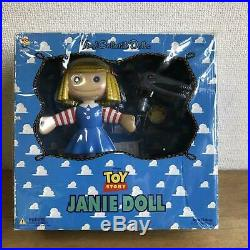 MEDICOM Toy Story JANIE DOLL Vinyl Collectible Doll Character goods In Box Mint