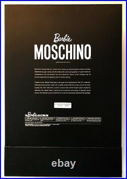 MOSCHINO Ken & McCartney Barbie Gift Set, Gold Label Dolls. DRW81. NRFB. MINT