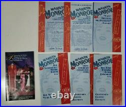 Marilyn Monroe 16 Franklin Mint Doll with Dresses, Accessories & Wardrobe Trunk