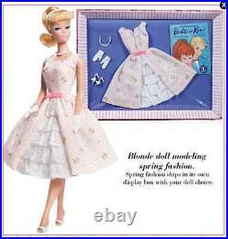 Mattel 2011 W3505 LET'S PLAY BARBIE Doll Reproduction Complete Set Brunette NRFB
