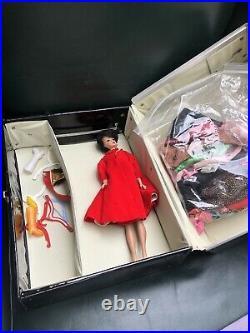 Mattel Vintage 1960s Barbie and Ken Dolls and Vinyl Cases
