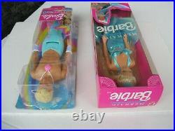 Mermaid Barbie 1991 & Merman Ken 2018 Dolls Lot Mattel NRFB