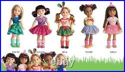 NEW American Girl Wellie Wishers COMBO OFFER of ALL 5 FRIENDS 14.5 Dolls