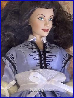 NEW NRFB Franklin Mint Scarlett O'Hara Shanty Town 16 Doll + 11 Dress Ensembles