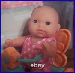 NEW Set of 6 Berenguer Dolls Lots To Love Babies 5 Mini Nursery PlaySets VHTF
