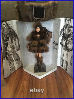 Platinum Label Chewbacca Star Wars X Barbie Doll GMM96 Brand New Mint NRFB