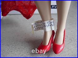 RARE Franklin Mint Vinyl Marilyn Monroe Sample Doll 15 Tall LOOK