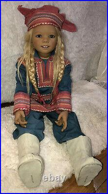 RARE KATIINA By Annette Himstedt 37 Vinyl Doll 2005, LE 166/377 Mint Condition