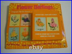 Rare 1968 Vintage Hasbro Flower Darlings Lily Darling # 8570 Mint On Card L#2