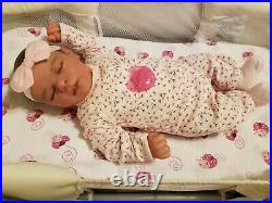 Realborn Chase Asleep By Bountiful Baby. Girl or boy, you choose, Lots of Extras