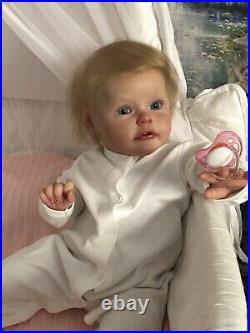 Realistic reborn baby doll Girl Sue Sue By Natali Blick, Original Kit