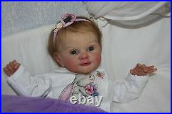 Realistic reborn doll Laura by Adrie Stoete