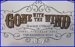 Scarlett OHara Gone With The Wind Doll Franklin Mint MIB Never Opened