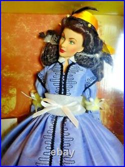 Scarlett O'Hara Vinyl Portrait Doll Shanty Town NIB Franklin Mint rare