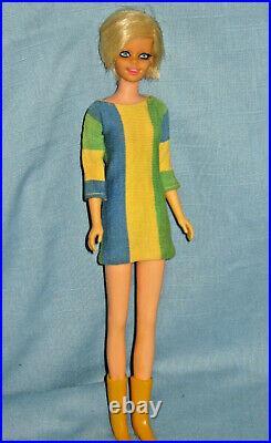 TWIST N TURN TWIGGY Original Box & Stand #1185 MATTEL 1967