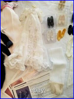 Titanic Franklin Mint Rose Doll, Safe, 13 Outfits, Trunk New