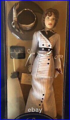 Titanic Rose Doll In Titanic Boarding Outfit, Franklin Mint, New Condition, NRFB