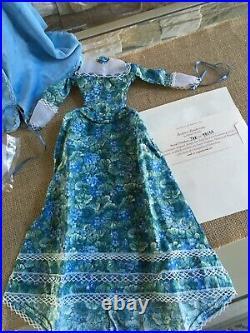 Tonner JULIA Pendant Historical Romance DOLL in Coat Ensemble + DRESS withCOA
